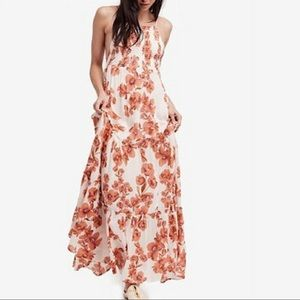FREE PEOPLE Garden Party Maxi Dress Ivory NWT